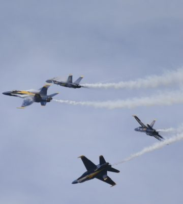 Blue Angels at the MCAS Cherry Point Air Show