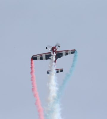 Hubie Tolson at MCAS Cherry Point Air ShowMCAS Cherry Point Air Show