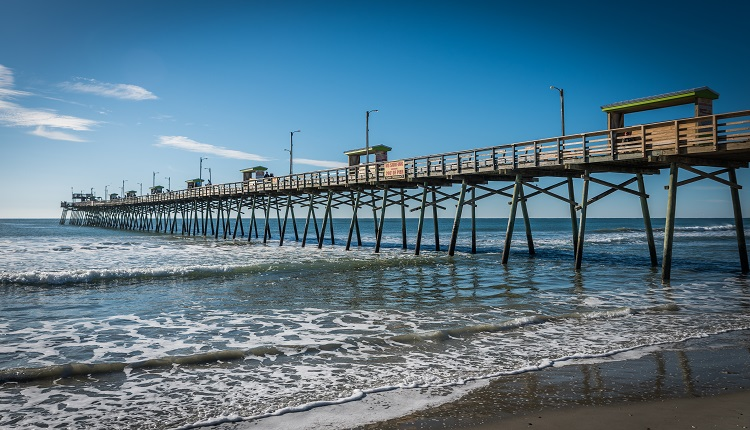 Reel in a big one at Bogue Inlet Fishing Pier