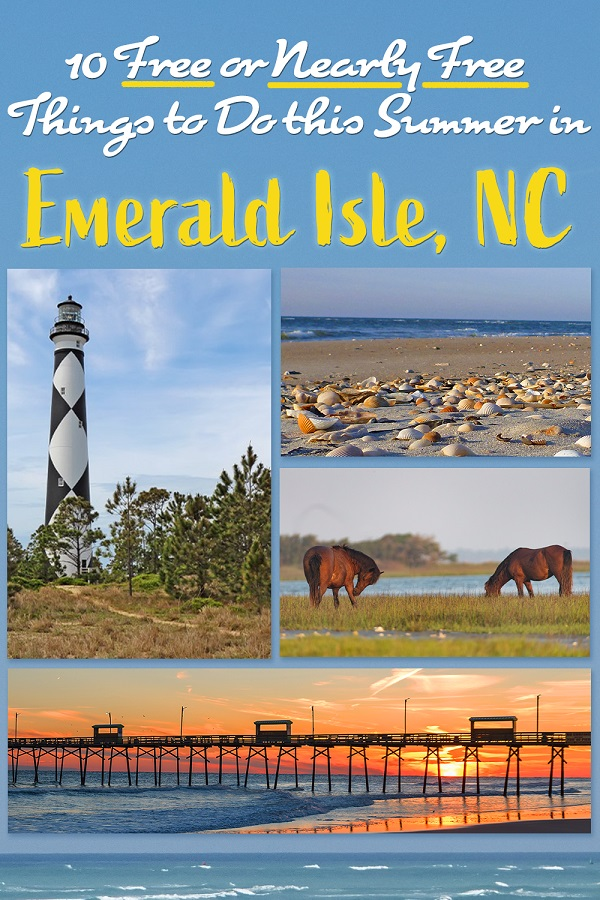 10 Free or Nearly Free Things to Do this Summer in Emerald Isle