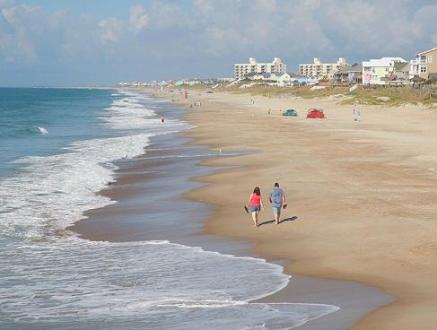 Beaches in Emerald Isle, North Carolina