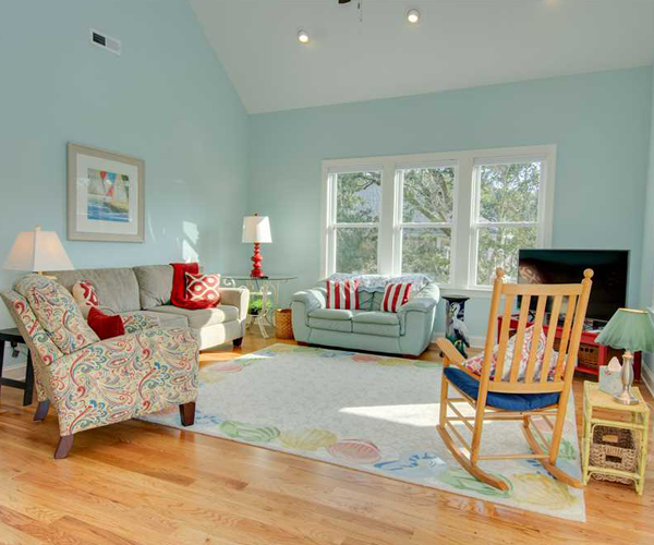 Featured Property of The Week - Beach Hair Dont Care - Living Room
