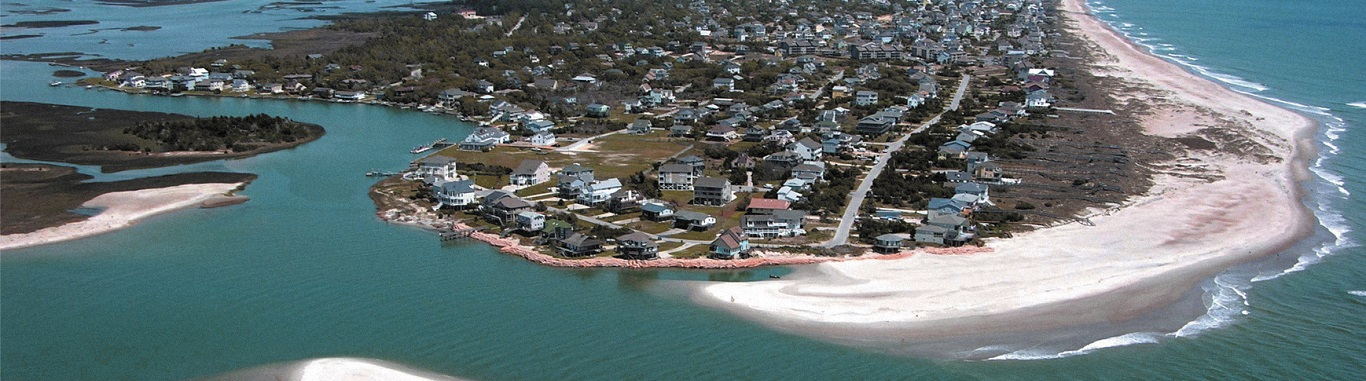 Aerial View of Emerald Isle NC