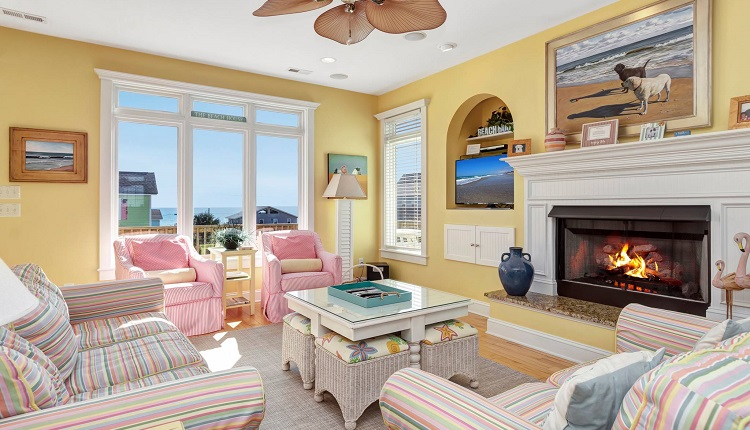 Vacation Rentals with Fireplaces in Emerald Isle, NC
