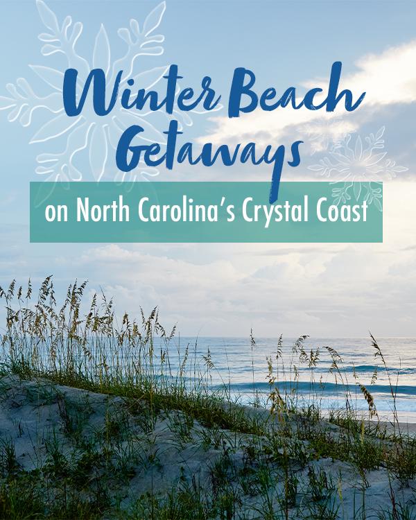 Winter Beach Getaways to North Carolina's Crystal Coast