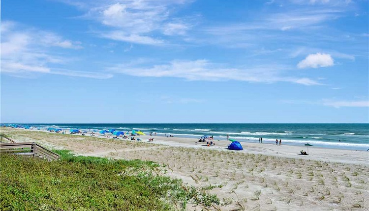 Emerald Isle, NC is known for its pristine beaches and emerald green waters