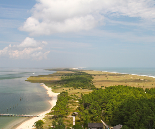 Where to Go for a Couple's Weekend Getaway in North Carolina - Cape Lookout