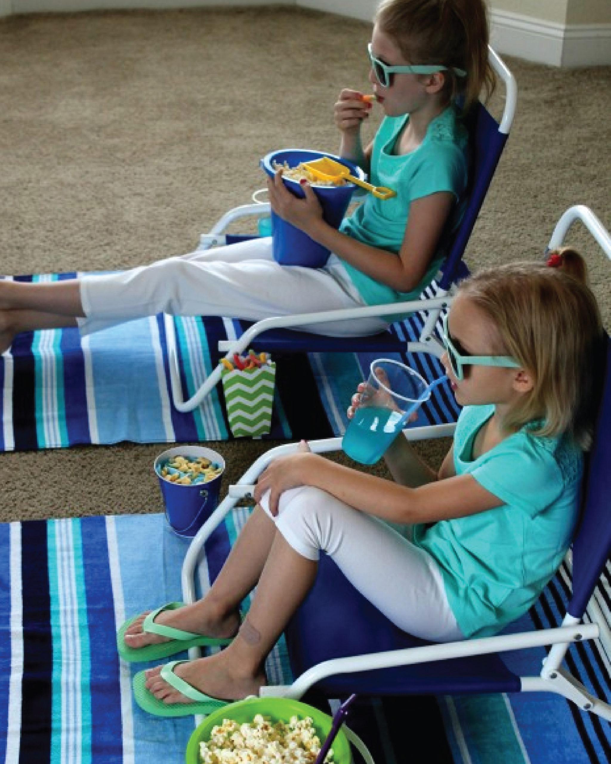 Plan a Beach Movie Day at Home
