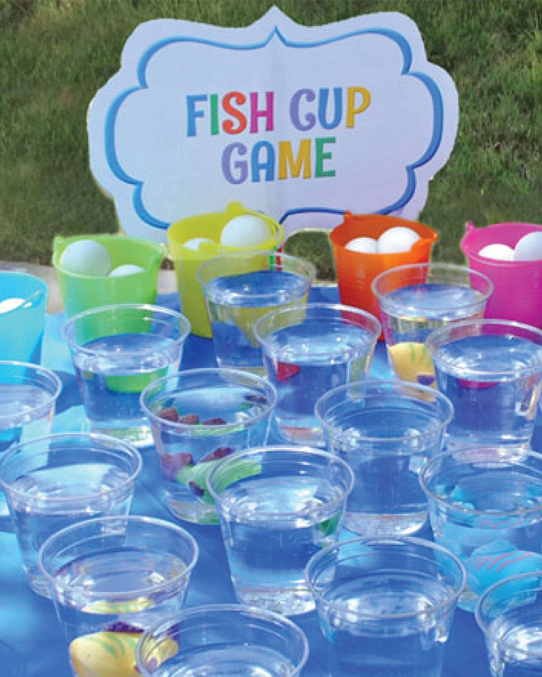 Make this Fish Cup Game at Home