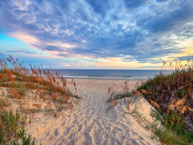 Beaches of North Carolina's Bogue Banks