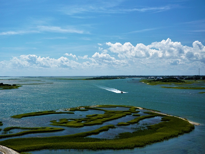 Intracoastal Waterway in Emerald Isle NC