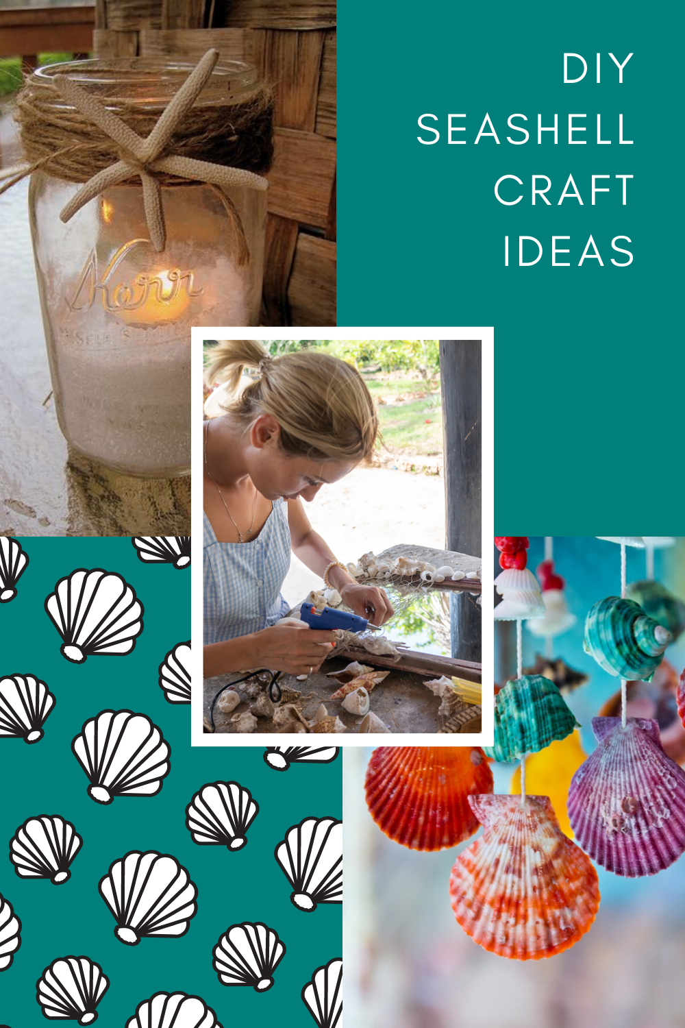 Shell Craft Pinterest
