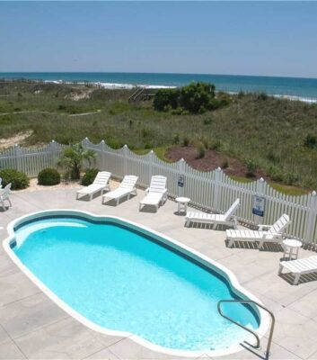 Casa Bianco - Oceanfront Vacation Rental in Emerald Isle, NC