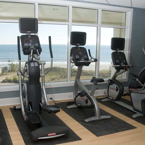 Fitness center at Grande Villas