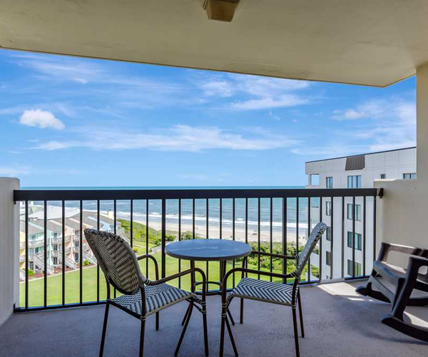 Featured Property Sound of The Sea 614W - Balcony