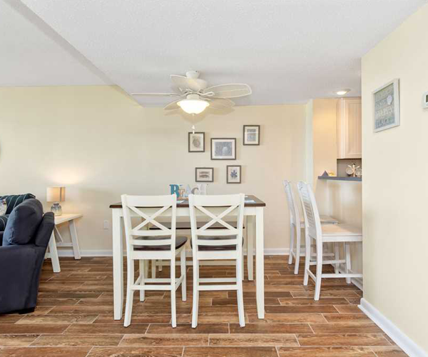 Featured Property Sound of The Sea 614W - Dining