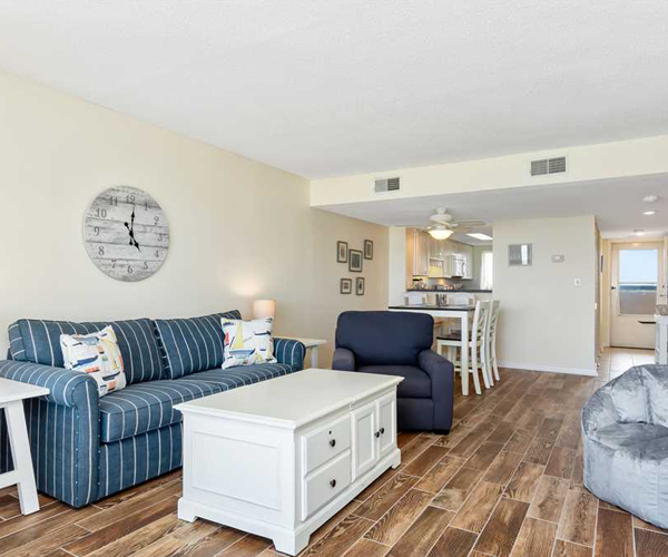 Featured Property Sound of The Sea 614W - Living Room 2