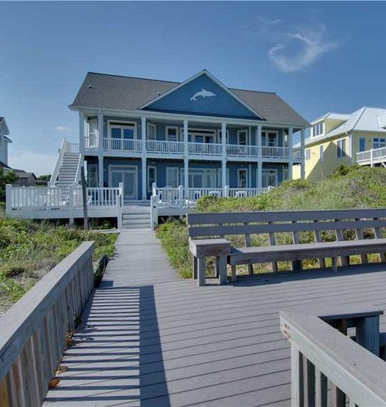1 Impossible Dream - Wedding Home Rental on NC's Crystal Coast