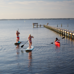 Enjoy an abundance of outdoor activities when you learn and work remotely in Emerald Isle