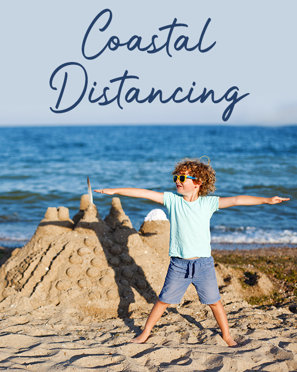 Coastal Distancing in Emerald Isle, North Carolina