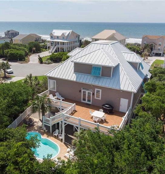 Nana's Beach House - Wedding Home Rental on NC's Crystal Coast