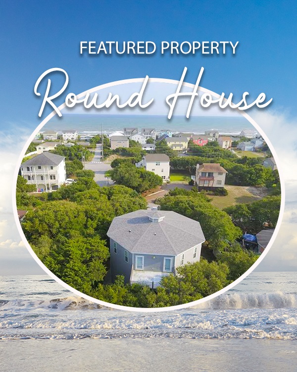 Round House Vacation Rental in Emerald Isle, NC