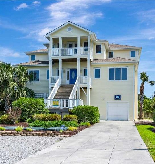 Second Wind - Wedding Home Rental on NC's Crystal Coast