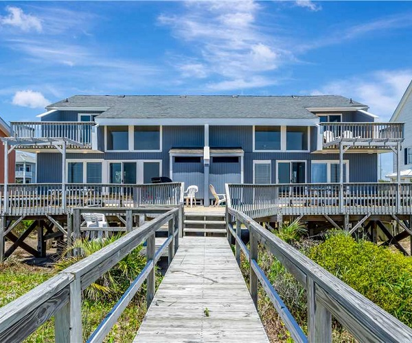 A Dapper Dolphin East - Duplex Vacation Rental in Emerald Isle, NC