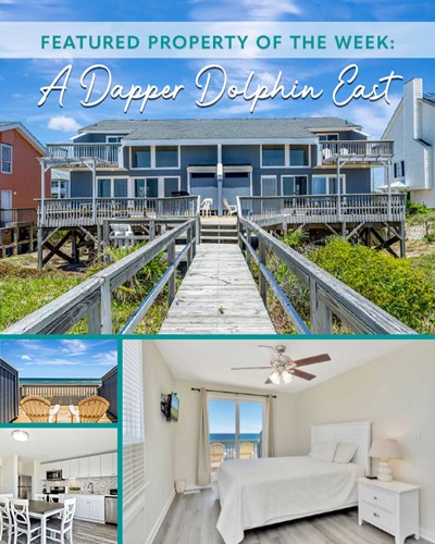 A Dapper Dolphin East - Featured Property of the Week | Emerald Isle Realty