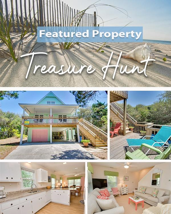 Treasure Hunt - Featured Vacation Rental - Emerald Isle Realty