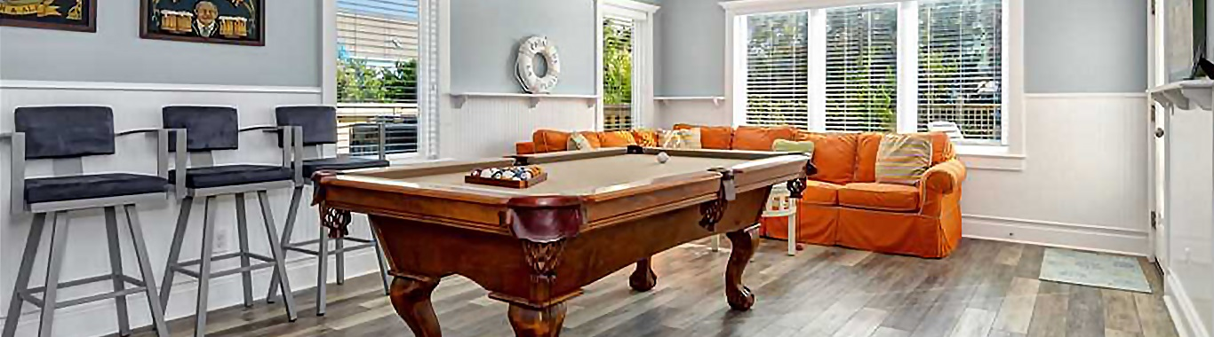 Southern Outer Banks Vacation Rentals with Game Rooms