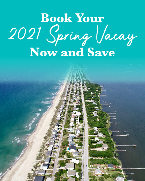 Emerald Isle Realty Spring Savings Discounts on Vacation Rentals