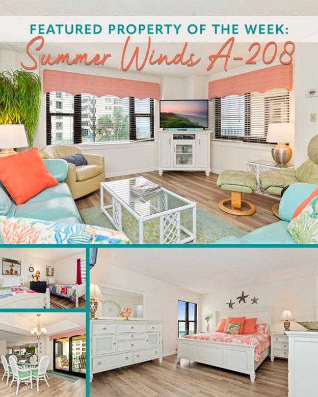 Summer Winds A-208 - Emerald Isle Realty Featured Property of the Week