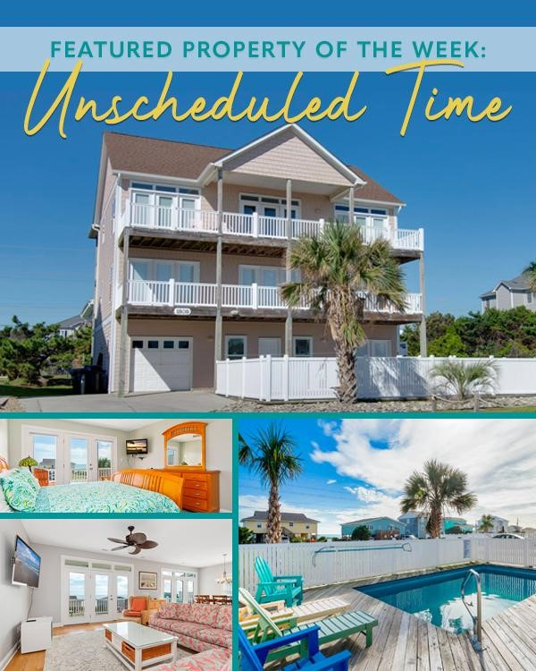Unscheduled Time – Emerald Isle Realty Featured Property of the Week