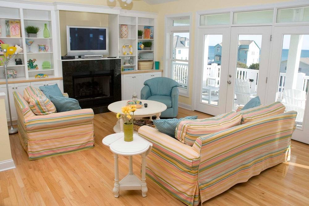 A Tropical Dream - Living Room