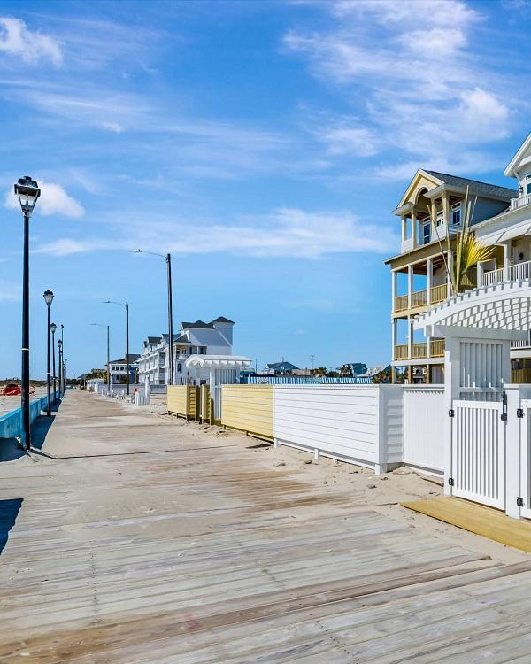 Boardwalk in Atlantic Beach, NC