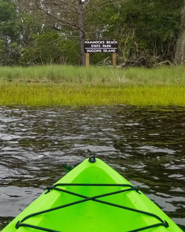 Kayaking Hammocks Beach State Park