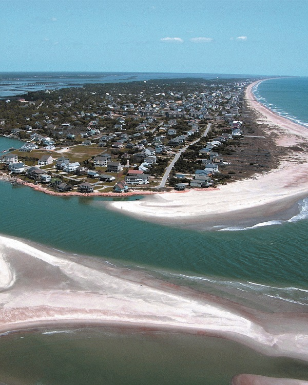 The Point in Emerald Isle on North Carolina's Crystal Coast