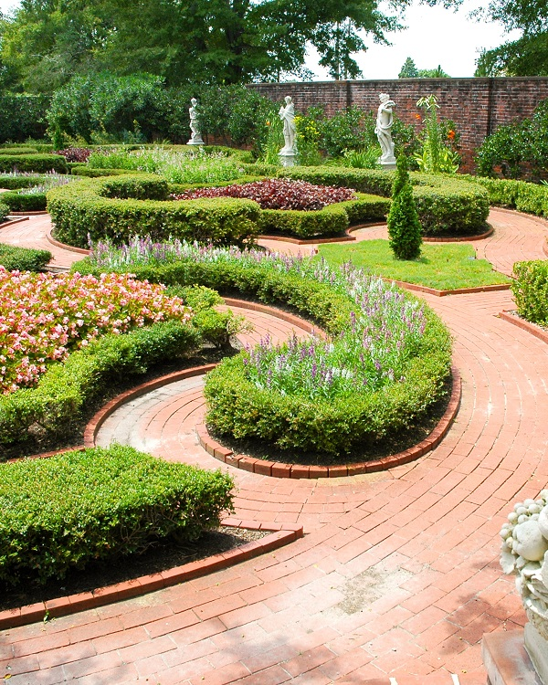 Tryon Palace Gardens in New Bern, NC