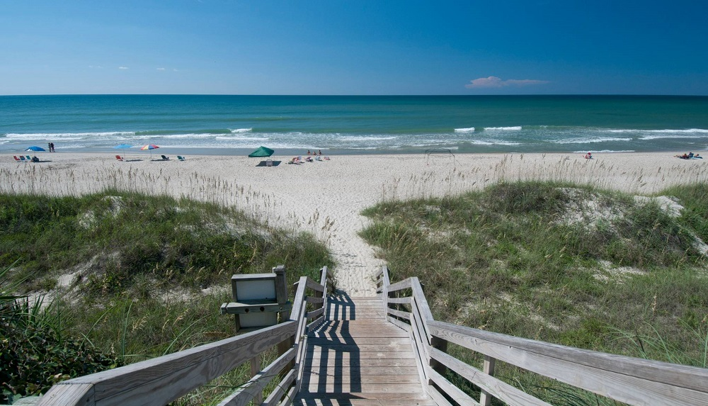 Emerald Isle beaches offer the perfect backdrop for relaxation.
