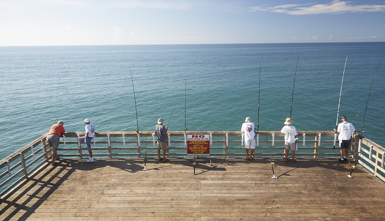 Go Fishing on Bogue Inlet Pier - Bucket List Ideas for Emerald Isle Vacation