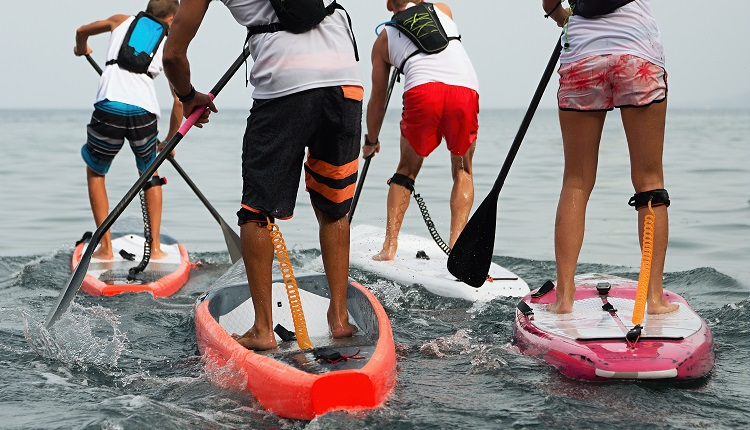 Paddleboarding on the Crystal Coast - Bucket List Ideas for Emerald Isle Vacation