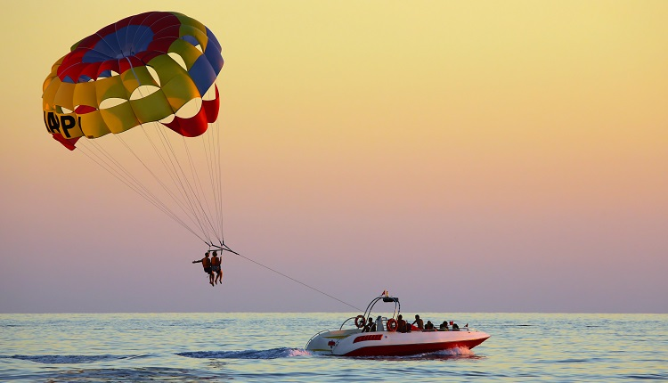 Parasailing on the Crystal Coast - Bucket List Ideas for Emerald Isle Vacation
