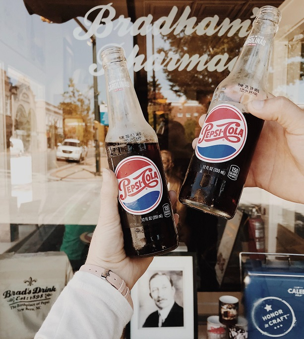 Birthplace of Pepsi Cola in New Bern, NC