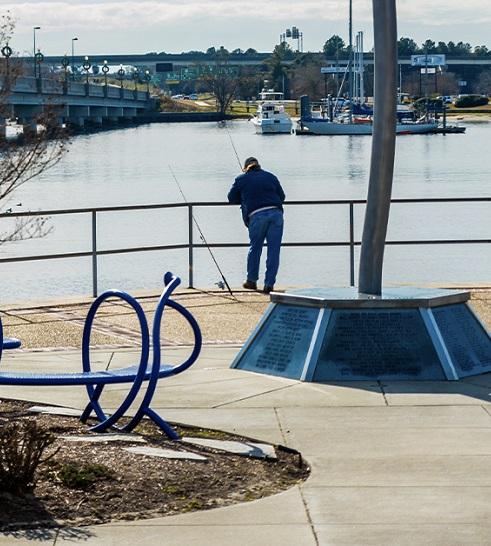 Park in New Bern, NC
