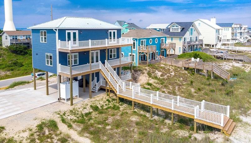 Daze Off - Oceanfront Duplex in Emerald Isle, NC