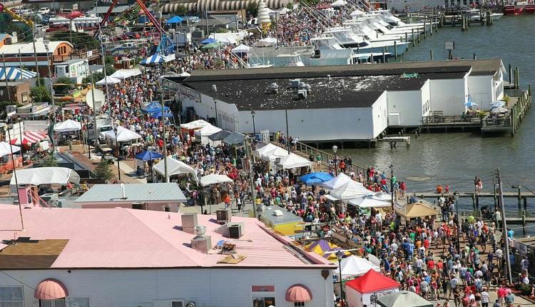 North Carolina Seafood Festival in Morehead City, NC