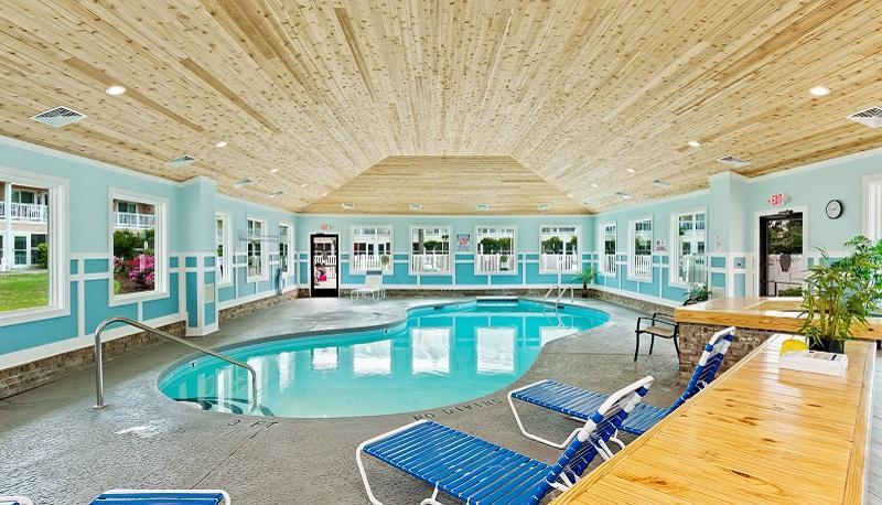 Pebble Beach Condos - Indoor Pool