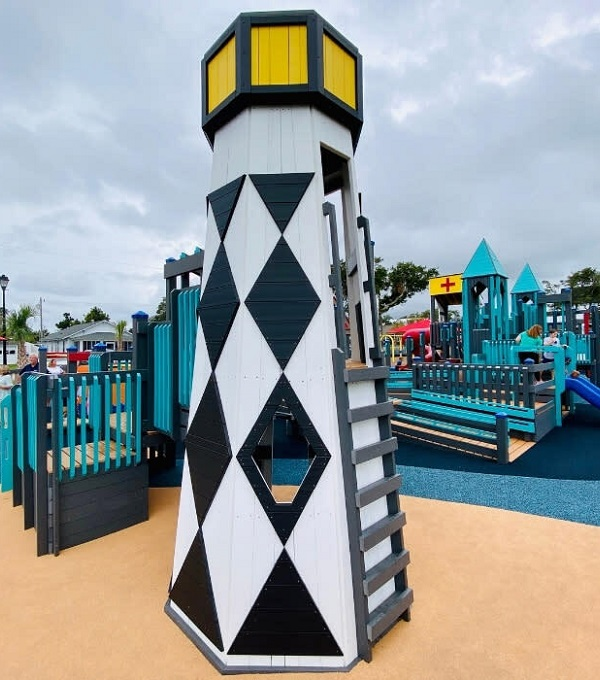 Shevans Park playground in Morehead City, NC