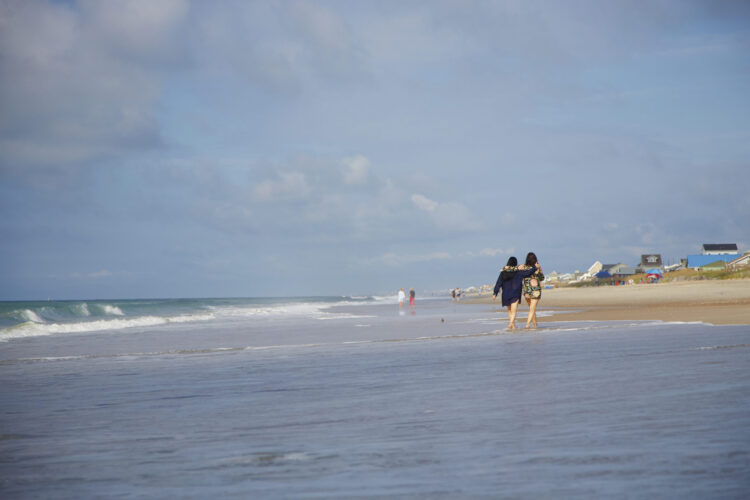 Start your fall girls getaway on Emerald Isle's beautiful beaches